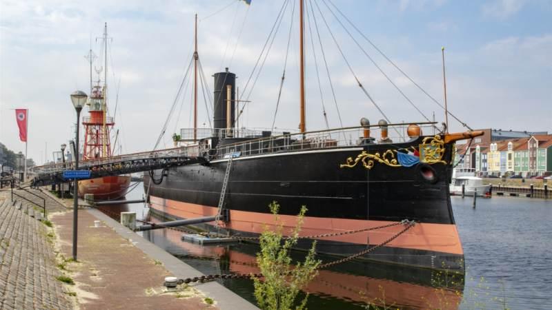 Steeds meer bezoekers Museumschip De Buffel