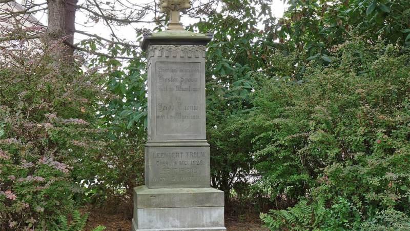 Open Monumentendag op begraafplaats Maria Rust