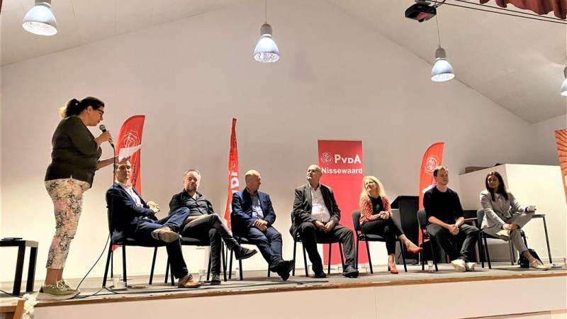 Kandidaat-partijvoorzitters PvdA in debat