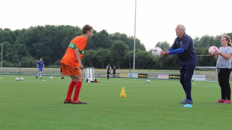 Een training voor aangepast sporten
